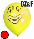 1 Figurenballon Clownkopf