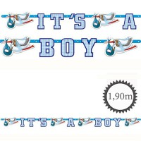 Girlande It's a Boy 1,9m