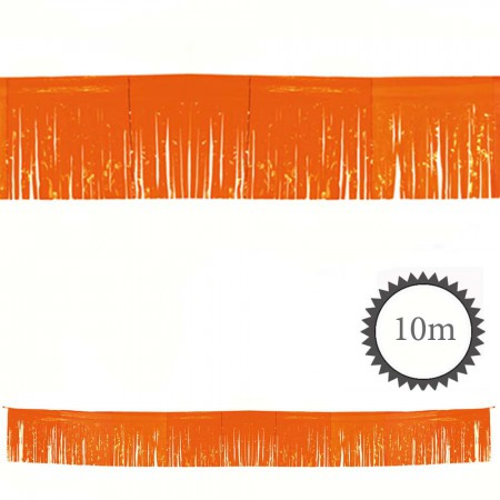 Fransen Girlande orange 10m